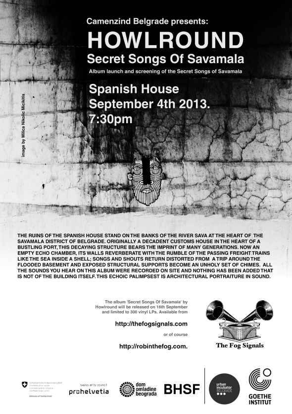 Spanish House Launch Party Poster