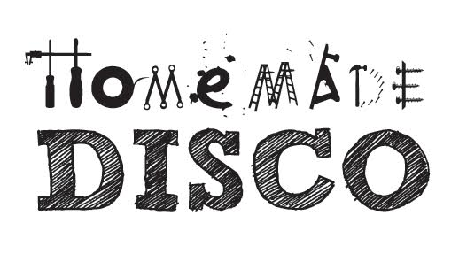 homemade disco logo