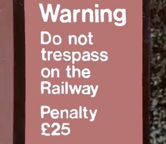 Railway Tresspass