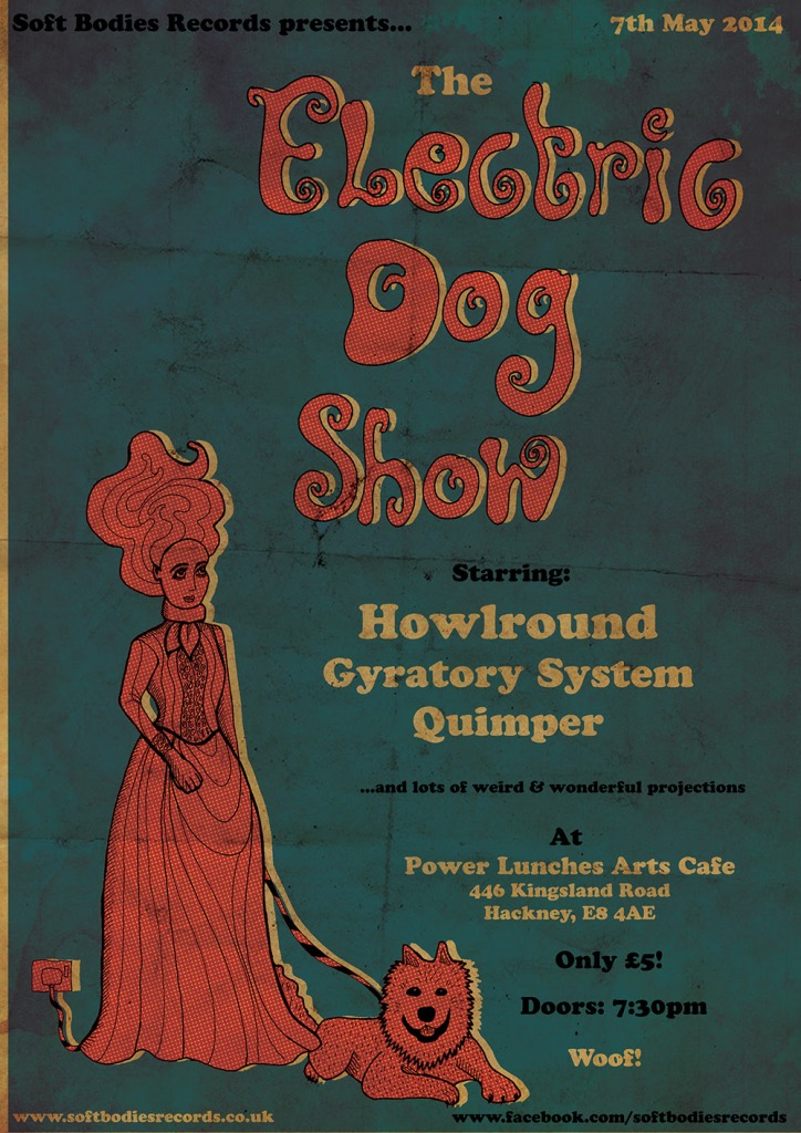 electric dog show flier