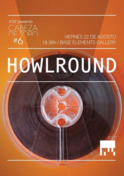 Howlround_4-33flier