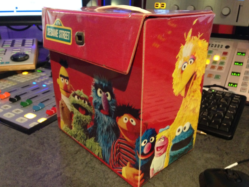 Sesame Street Record Box 2