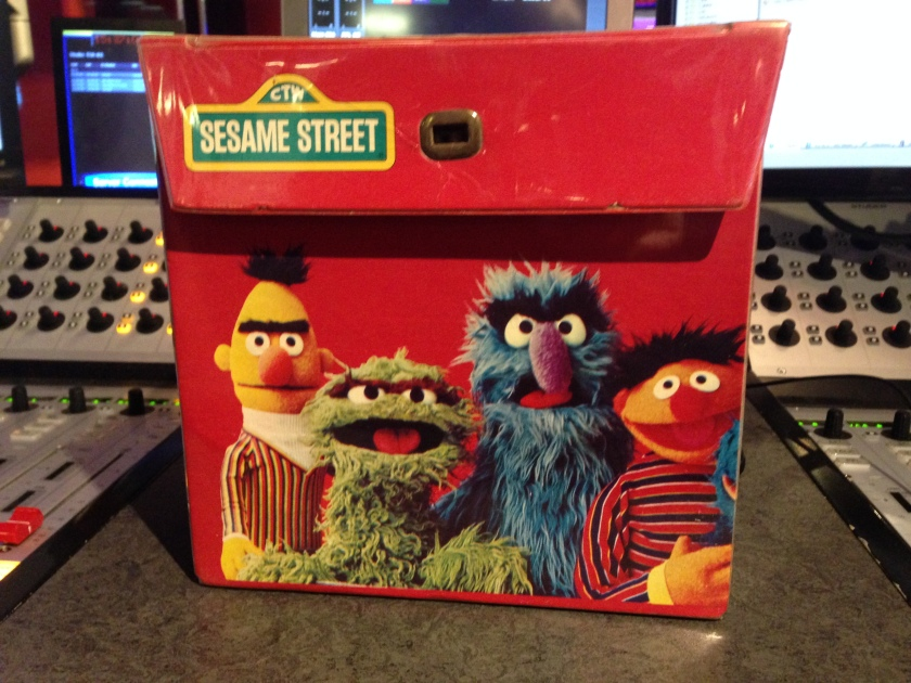 Sesame Street Record Box