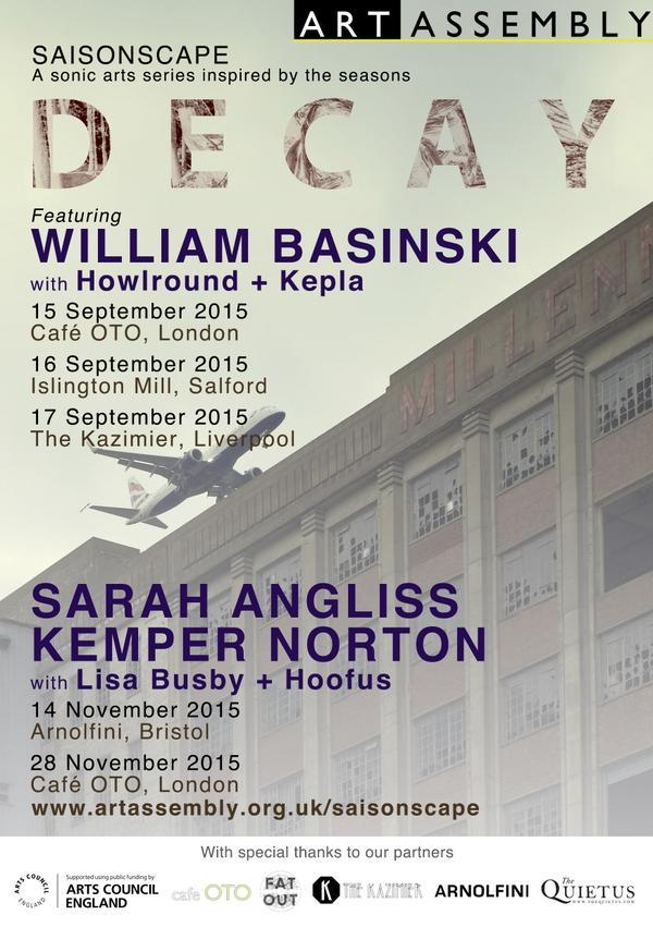 Saisonscape Decay Poster