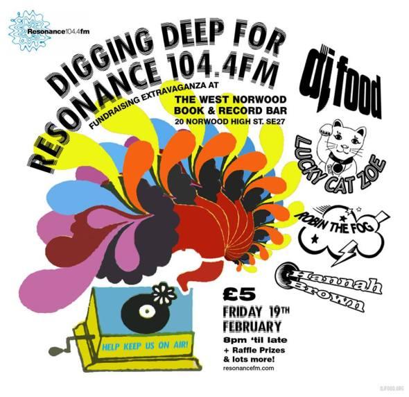 Digging Deep Poster - DJ Food
