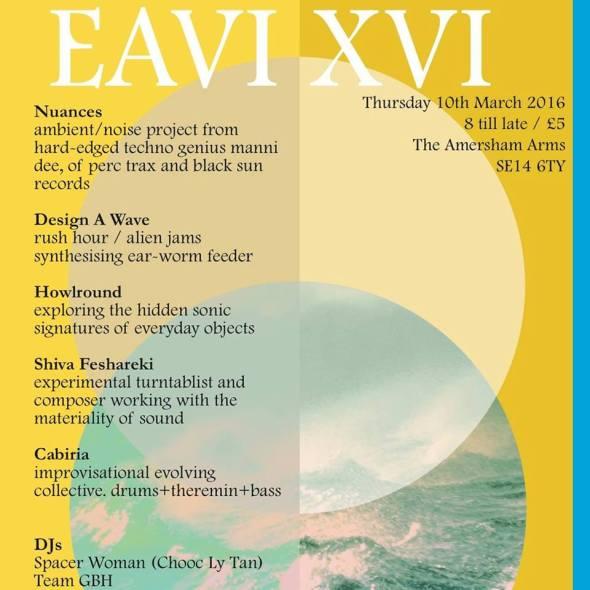 EAVI Flier