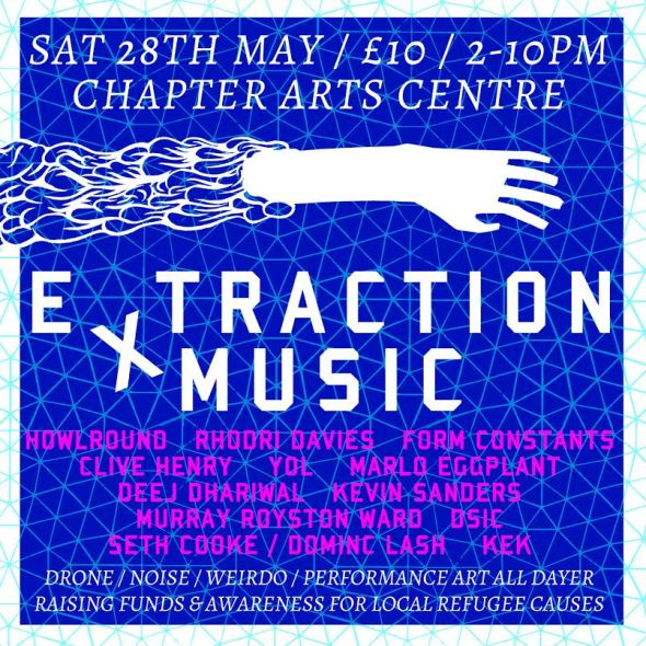 Extraction Music Flier 2