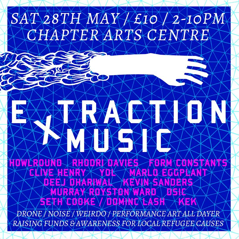 Extraction Music Flier 2