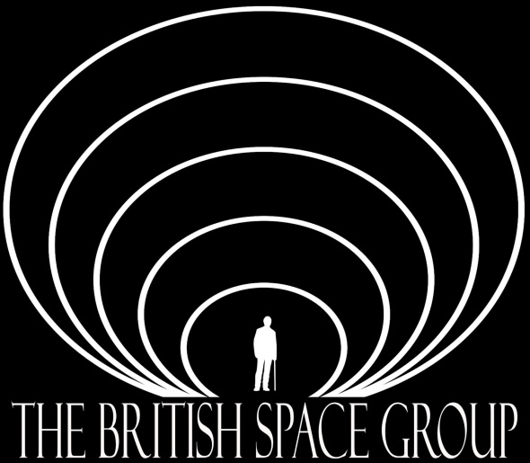 The British Space Group man logo 2